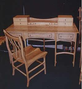 John Wesley Williams Furniture Baltimore Desk