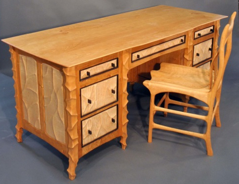 John Wesley Williams Furniture Executive Desk