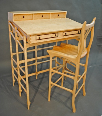 John Wesley Williams Furniture Scheutzow Stand Up Desk